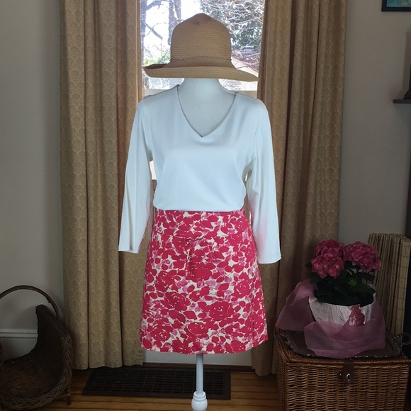 J. Crew Dresses & Skirts - J. Crew 100% cotton skirt with side zipper size 6